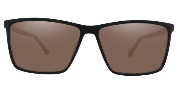 Louie Square Prescription Glasses - Black