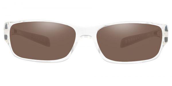 Mercury Rectangle Prescription Glasses - Clear