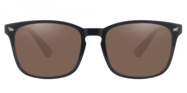 Rogan Square Prescription Glasses - Black