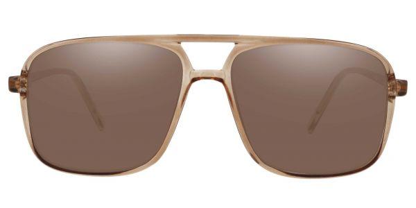 Atwood Aviator Prescription Glasses - Brown