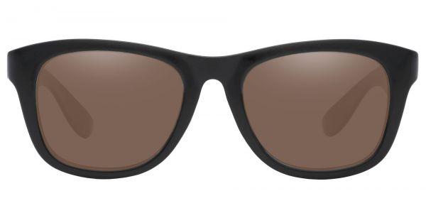 Tyre Square Prescription Glasses - Black