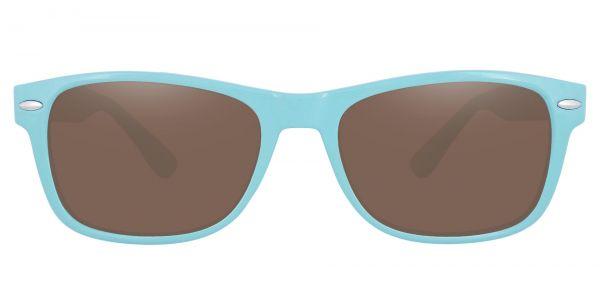 Kent Rectangle Prescription Glasses - Blue