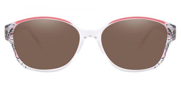 Price Oval Prescription Glasses - Red-1