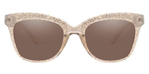 Knox Cat Eye Prescription Glasses - Brown-1