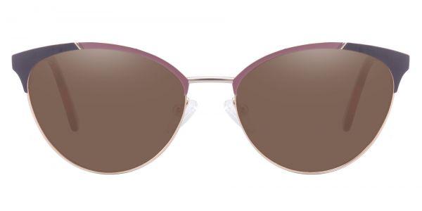 Lisette Oval Prescription Glasses - Red-1