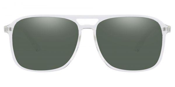 Edward Aviator Prescription Glasses - Clear-1