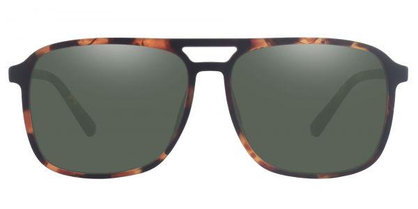 Edward Aviator Prescription Glasses - Tortoise-2