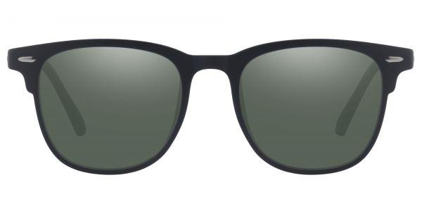 Bento Square Prescription Glasses - Black-2