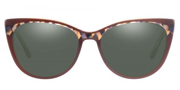Cabernet Cat Eye Prescription Glasses - Brown-1
