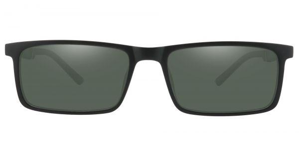 Ronan Rectangle Prescription Glasses - Black-2