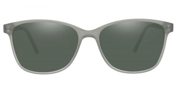 Argyle Rectangle Prescription Glasses - Gray-2