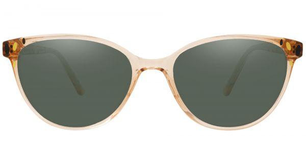 Carma Oval Prescription Glasses - Brown-2