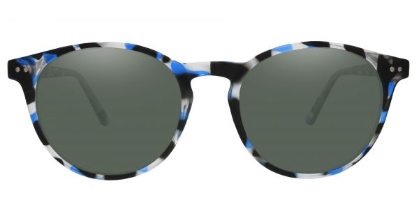 Dormont Round Prescription Glasses - Blue-2