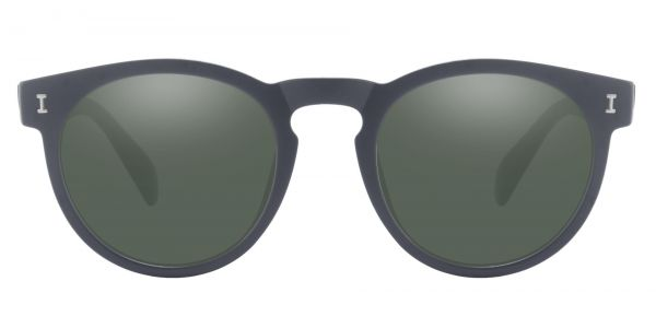 Ozark Round Prescription Glasses - Black-2