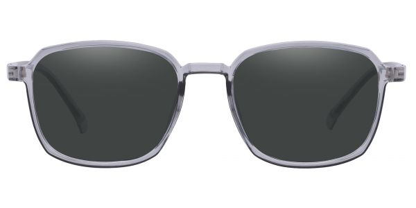 Stella Square Prescription Glasses - Gray