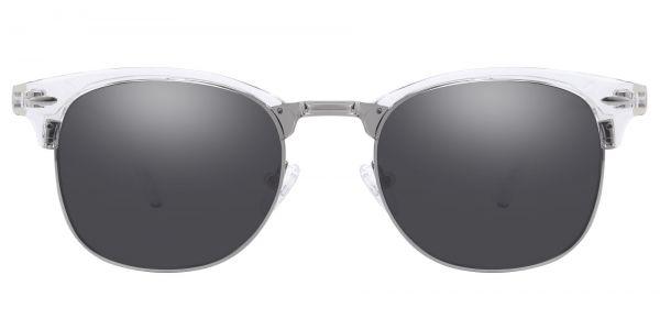 Salvatore Browline Prescription Glasses - Clear