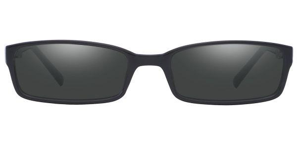Sanford Rectangle Prescription Glasses - Black