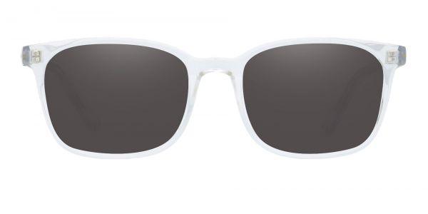 Windsor Rectangle Prescription Glasses - Clear