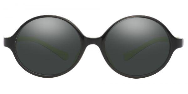 Dagwood Round Prescription Glasses - Black