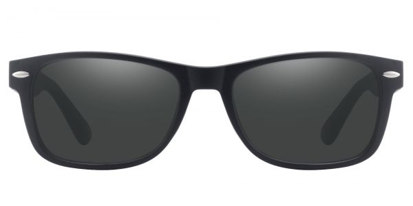 Kent Rectangle Prescription Glasses - Black