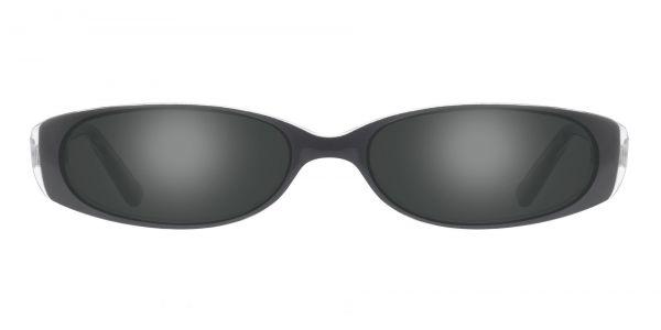 Venetia Oval Prescription Glasses - Black
