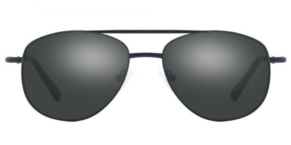 Dwight Aviator Prescription Glasses - Black