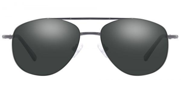 Dwight Aviator Prescription Glasses - Gray