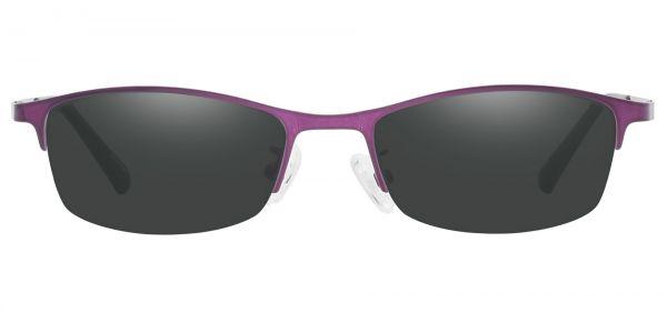 Eliza Rectangle Prescription Glasses - Purple