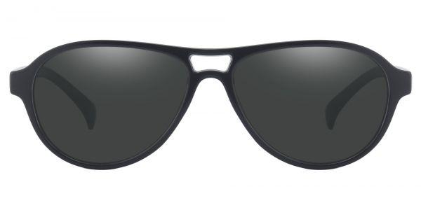 Sosa Aviator Prescription Glasses - Black