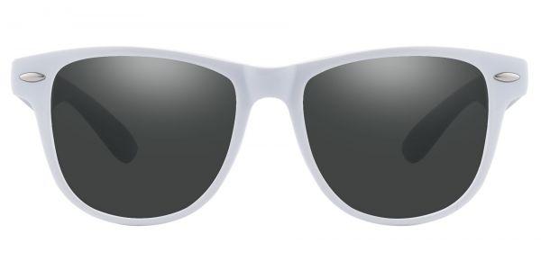 Radio Square Prescription Glasses - White