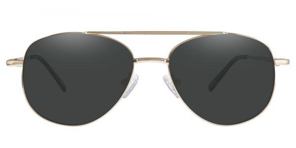 Dwight Aviator Prescription Glasses - Yellow