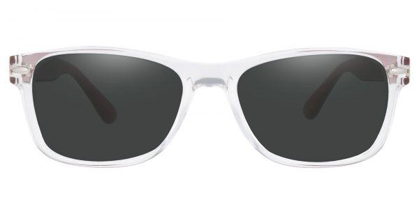 Kent Rectangle Prescription Glasses - Clear-1