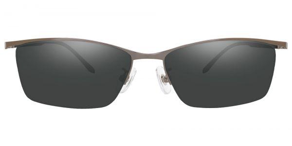 Sedona Rectangle Prescription Glasses - Gray-1