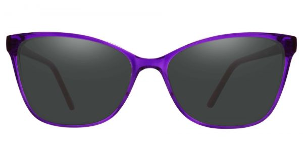 Brynn Cat Eye Prescription Glasses - Purple-1