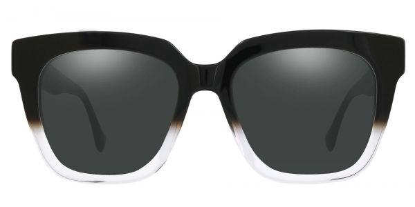 Lyric Square Prescription Glasses - Black-1