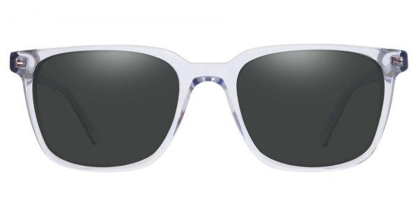 Alex Square Prescription Glasses - Clear-1