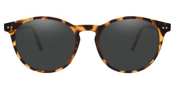 Dormont Round Prescription Glasses - Leopard