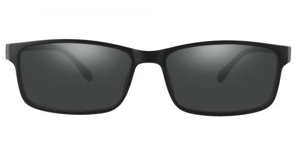 Candice Rectangle Prescription Glasses - Black-1