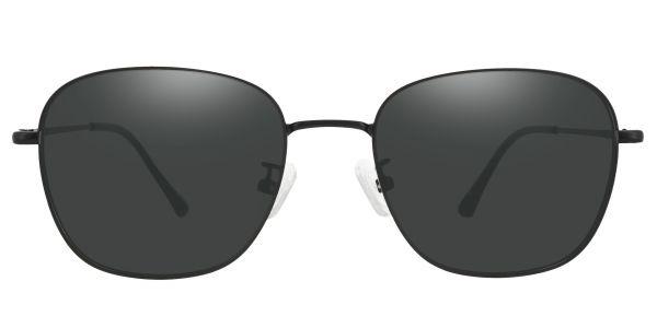 Fresno Square Prescription Glasses - Black-1