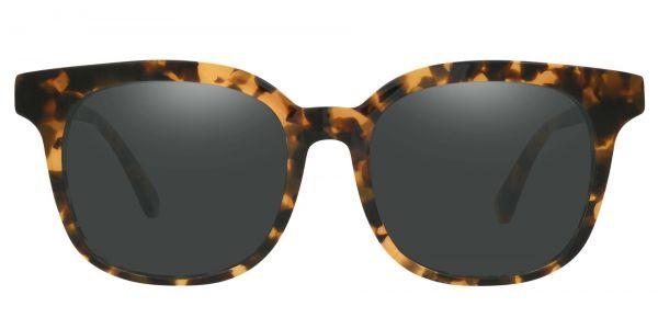 Tenor Square Prescription Glasses - Tortoise-1