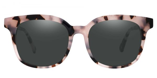 Tenor Square Prescription Glasses - Leopard