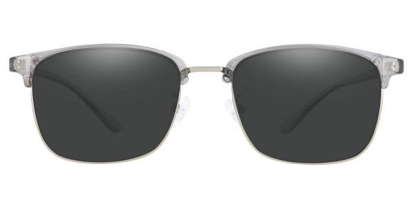 Simcoe Browline Prescription Glasses - Gray-1