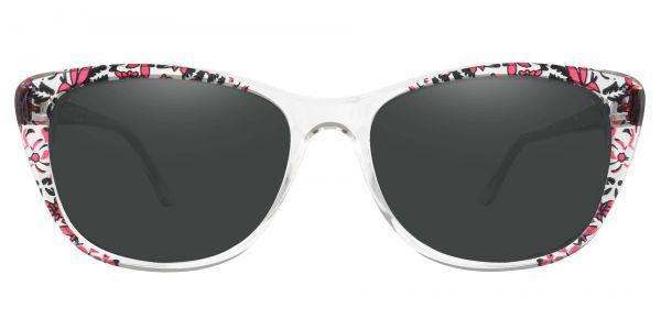 Simone Cat-Eye Prescription Glasses - Clear-1