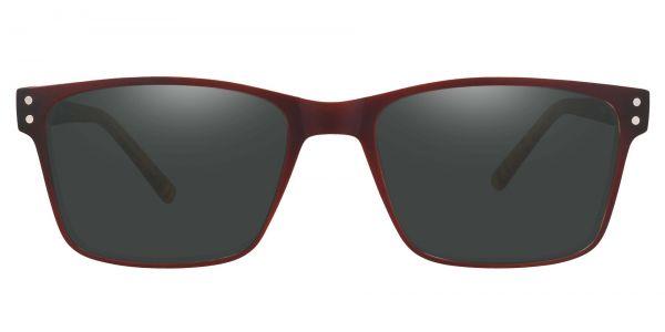 Royal Rectangle Prescription Glasses - Brown-1
