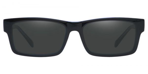 Eclipse Rectangle Prescription Glasses - Blue-1