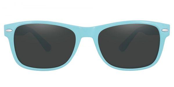 Kent Rectangle Prescription Glasses - Blue-1