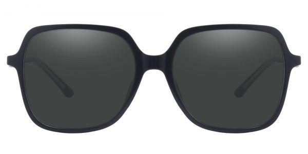 Zion Square Prescription Glasses - Black