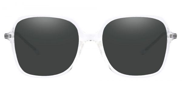 Zion Square Prescription Glasses - Clear