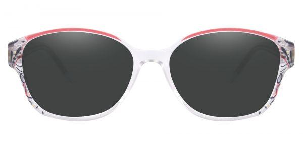 Price Oval Prescription Glasses - Red