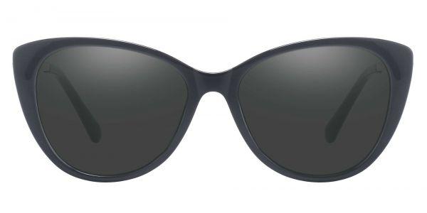 Roma Cat Eye Prescription Glasses - Black